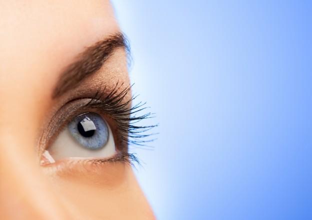 UV radiation hurts light eyes
